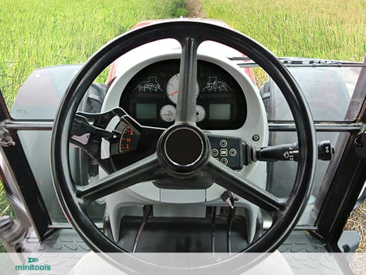 New display for Massey Ferguson instrument cluster