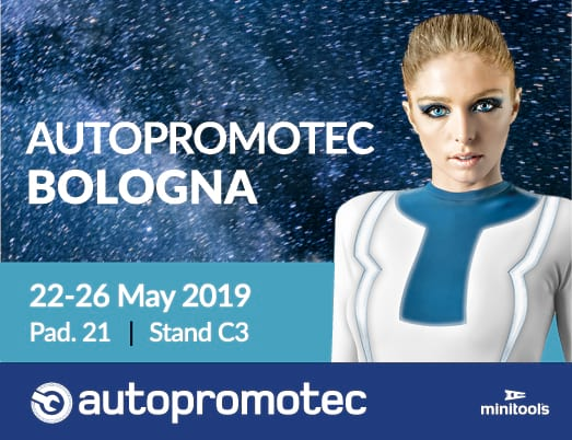 Dashboards parts and tools at Autopromotec 2019