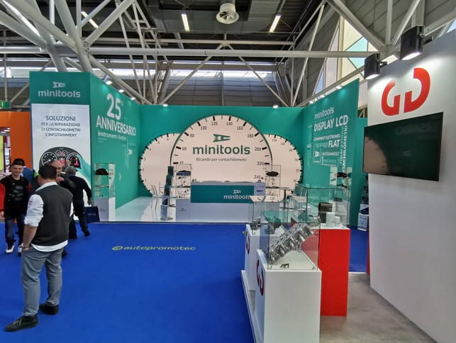 Autopromotec Bologna is the leading sector event in Italy