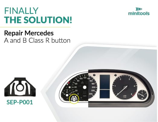Market news: Replacement reset button support adaptable to Mercedes A and B Class