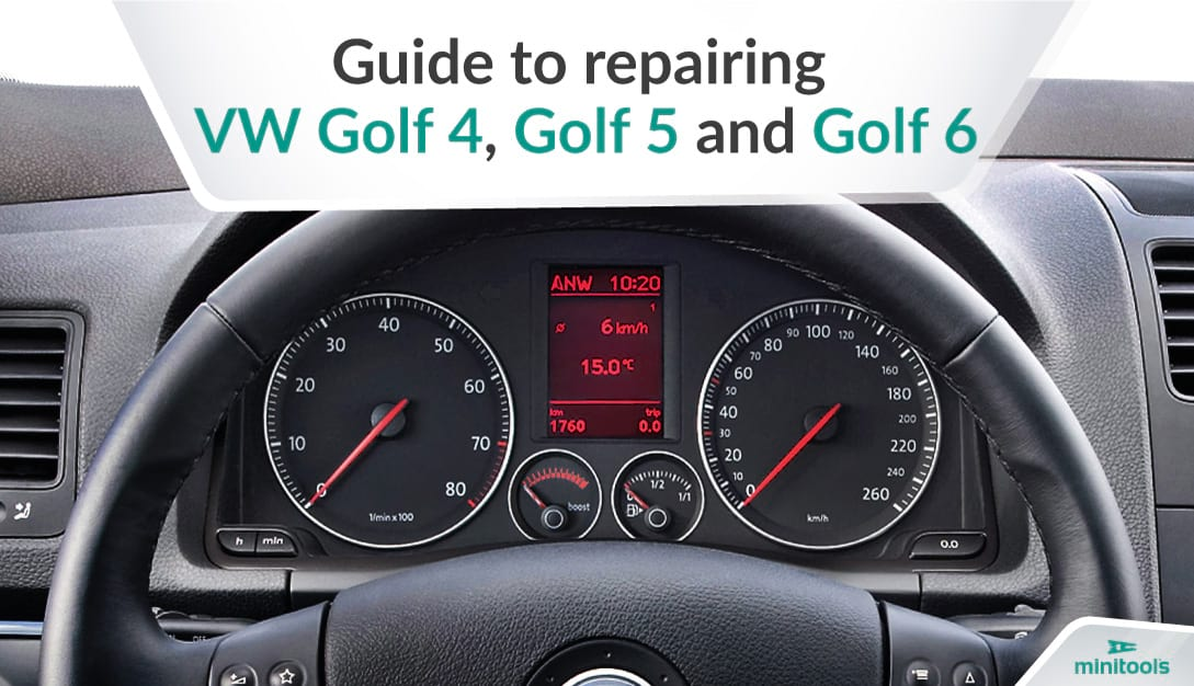 Guide to repairing VW Golf instrument clusters