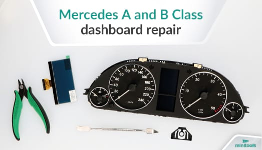 Mercedes A Class and B Class dashboards: Problems and solutions