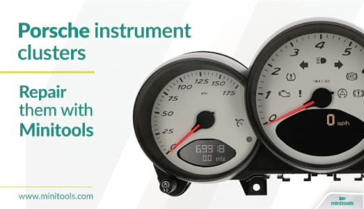 How to repair Porsche instrument cluster