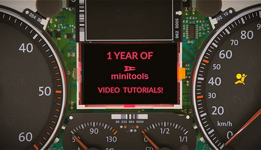 Minitools tutorials turn 1!